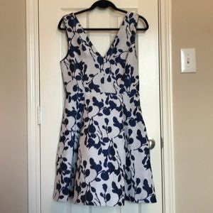 Betsy Johnson Fit & Flare Floral Dress
